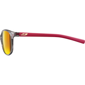 Julbo Lizzy Spectron 3 Sunglasses Kids, grey glossy/matt red